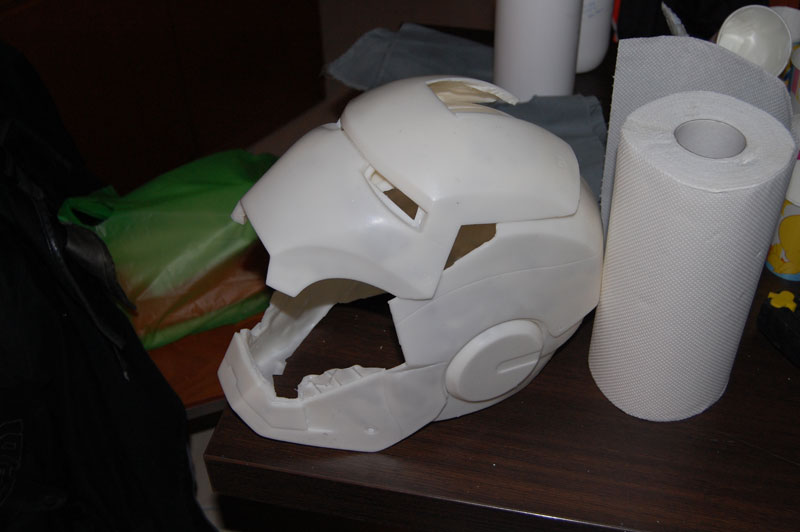 Iron Man Helmet Pattern Khan Iron Man Helmet